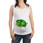 Funny Irish Turtle Maternity Tank Top