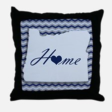 Cute Home is where the heart is Throw Pillow