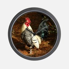 rooster1 Wall Clock