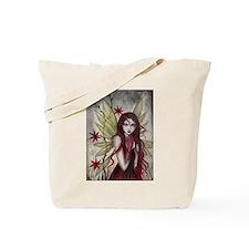 Scarlet Fairy Fantasy Art Tote Bag