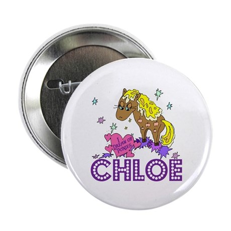 """I Dream Of Ponies Chloe 2.25"""" Button (100 pack)"""