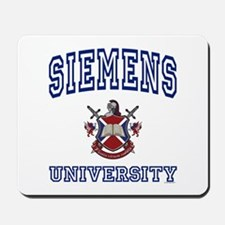 SIEMENS University Mousepad