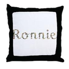 Ronnie Seashells Throw Pillow
