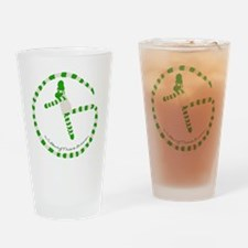 Wilbury Travels Geocaching Logo Drinking Glass