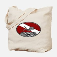 Dive Instructor (Oval) Tote Bag