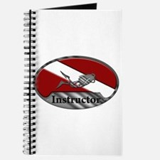 Dive Instructor (Oval) Journal