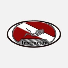 Dive Instructor (Oval) Patch