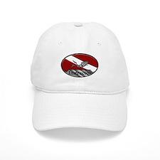 Dive Instructor (Oval) Baseball Cap