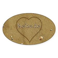 Rolando Beach Love Decal