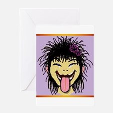 Funny Face Greeting Cards