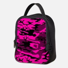 Alien Pink Camo Neoprene Lunch Bag