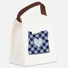 Cool Oregon love Canvas Lunch Bag