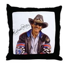 All Pro Sports Richard Petty Throw Pillow