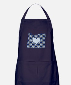 Cute Oregon love Apron (dark)