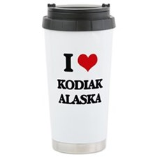 I love Kodiak Alaska Travel Mug