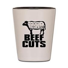 Beef_Cuts Shot Glass