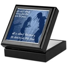 Dancing in the Rain Keepsake Box
