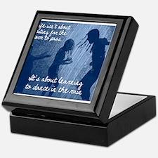Dancing in the Rain Keepsake Box