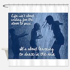 Dancing in the Rain Shower Curtain
