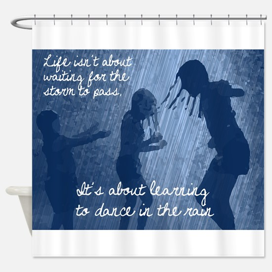 Dancing in the Rain Shower Curtain