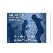 Dancing in the Rain Postcards (Package of 8)