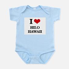 I love Hilo Hawaii Body Suit