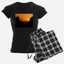 Sunset at the Window Pajamas