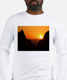 Sunset at the Window Long Sleeve T-Shirt