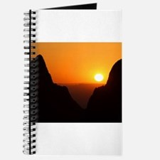 Sunset at the Window Journal