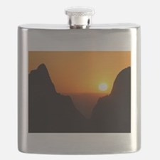 Sunset at the Window Flask