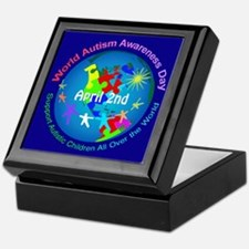 World Autism Awareness Day Keepsake Box