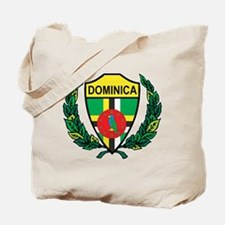 Stylized Dominica Tote Bag