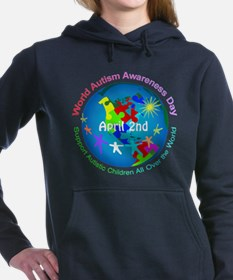 World Autism Awareness D Women's Hooded Sweatshirt