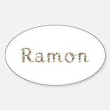 Ramon Seashells Oval Decal