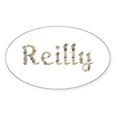 Reilly Seashells Oval Decal