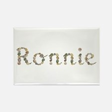 Ronnie Seashells Rectangle Magnet