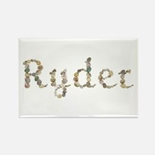 Ryder Seashells Rectangle Magnet