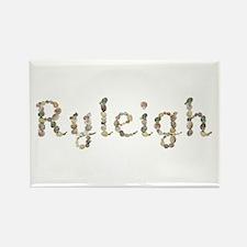 Ryleigh Seashells Rectangle Magnet