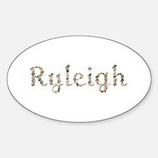 Ryleigh Seashells Oval Decal