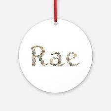Rae Seashells Round Ornament