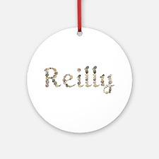 Reilly Seashells Round Ornament
