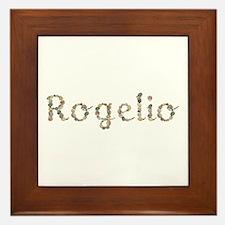 Rogelio Seashells Framed Tile