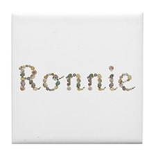 Ronnie Seashells Tile Coaster