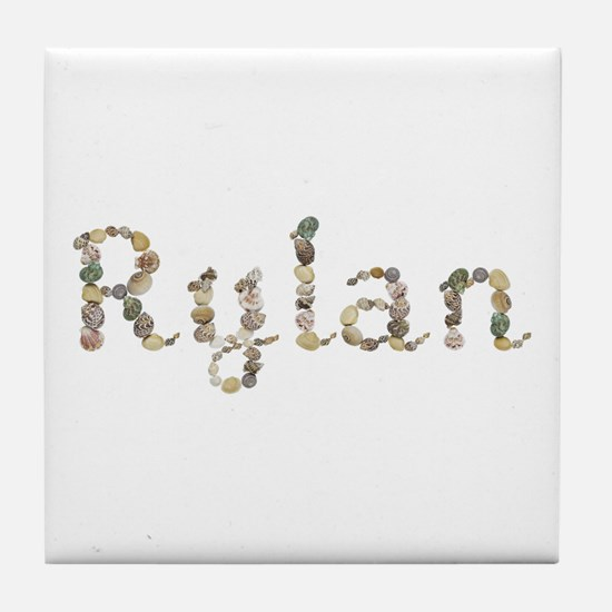 Rylan Seashells Tile Coaster