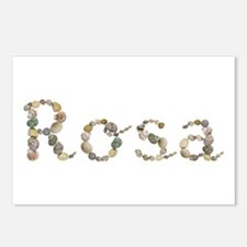 Rosa Seashells Postcards 8 Pack