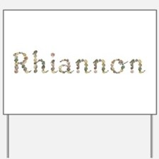 Rhiannon Seashells Yard Sign
