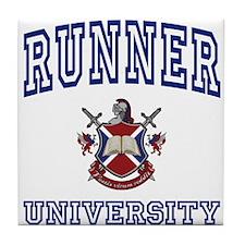 RUNNER University Tile Coaster