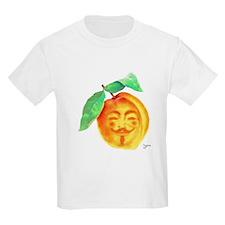 V Peach T-Shirt