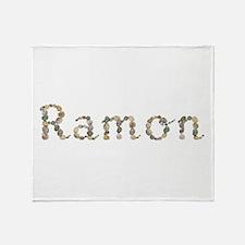Ramon Seashells Throw Blanket