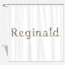 Reginald Seashells Shower Curtain